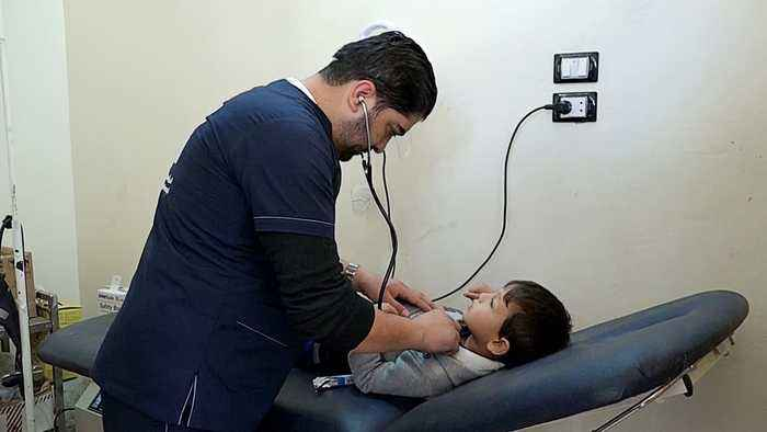 Syria's war: Doctors take precautions to protect hospitals