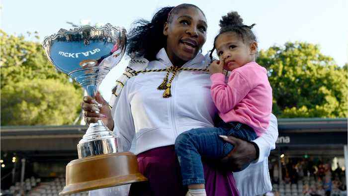 Serena Williams Talks About Being A Working Mom