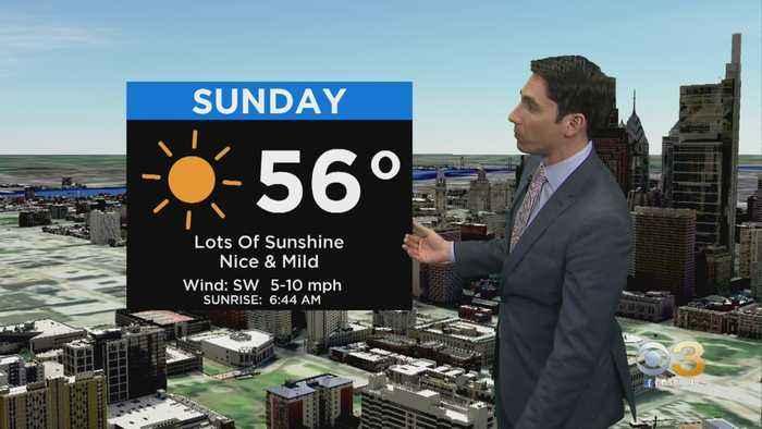 Philadelphia Weather: Wonderful End To The Weekend