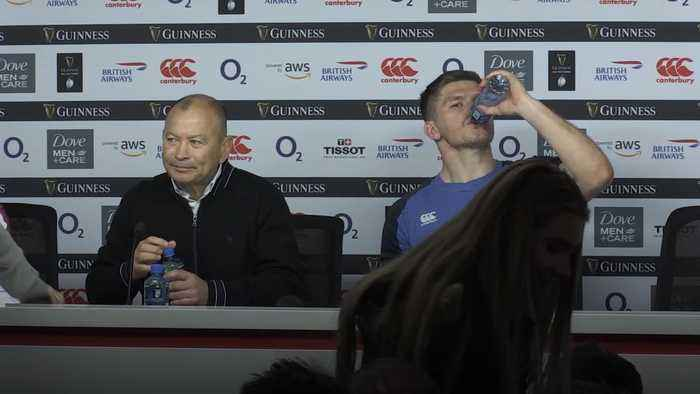 Eddie Jones: We stepped up today and we will again for Wales