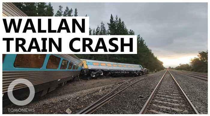 Australian train runs off rail and kills two on a troubled track