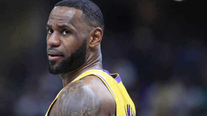 LeBron James sued for $33 million over 'I am more than an athlete' slogan