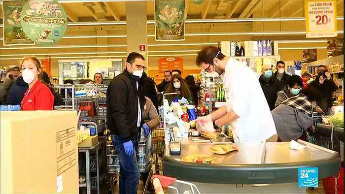 Coronavirus outbreak: Italy quarantines Northern towns as new cases jump