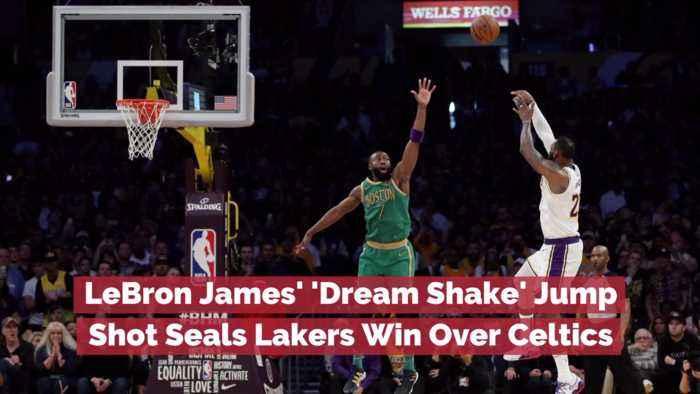 LeBron James' Win Over The Celtics