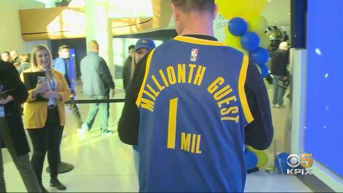 Chase Center, Warriors Celebrate Millionth Guest Since Arena's Opening