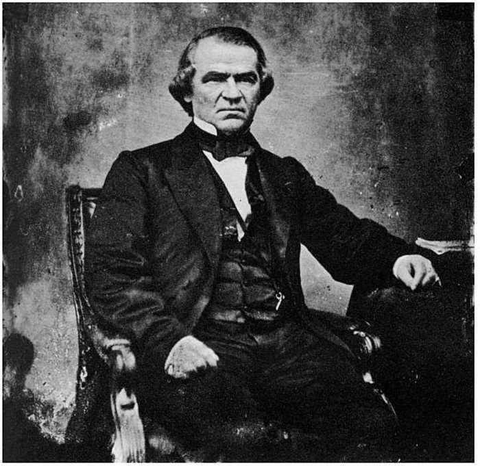 This Day in History: President Andrew Johnson Is Impeached