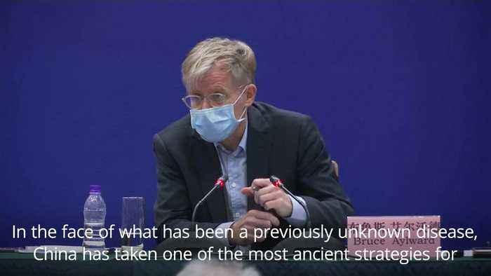 Health expert praises China's coronavirus containment effort