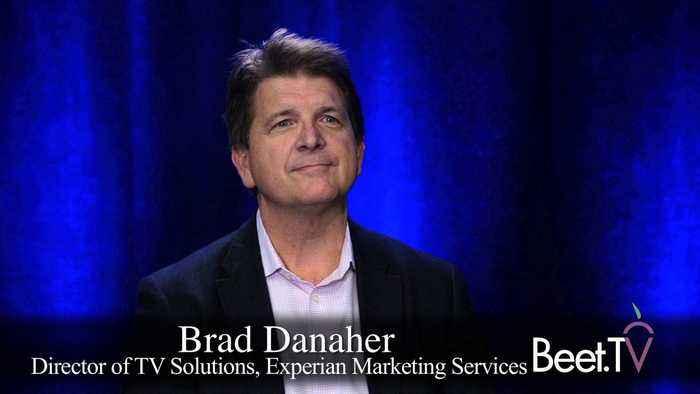 Strength In Offline & TV: Experian's Danaher