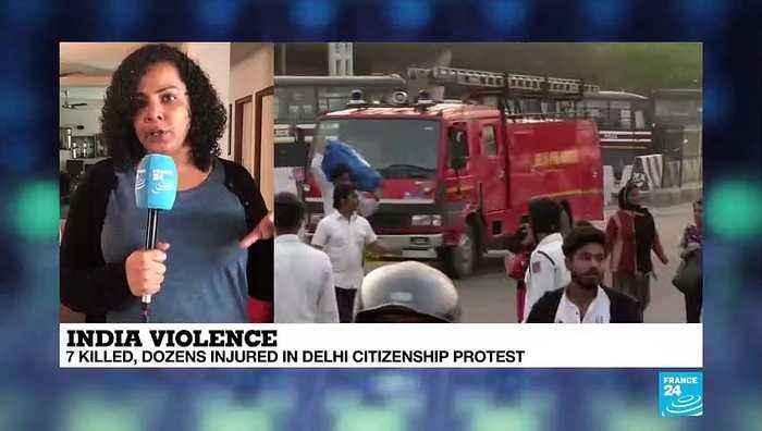 India: 7 killed, dozens injured in Delhi citizenship protest