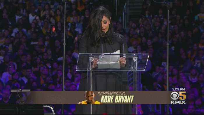 1000s Share Sorrow, Joy, Tears At Memorial For Kobe Bryant, Daughter Gianna & 7 Victims