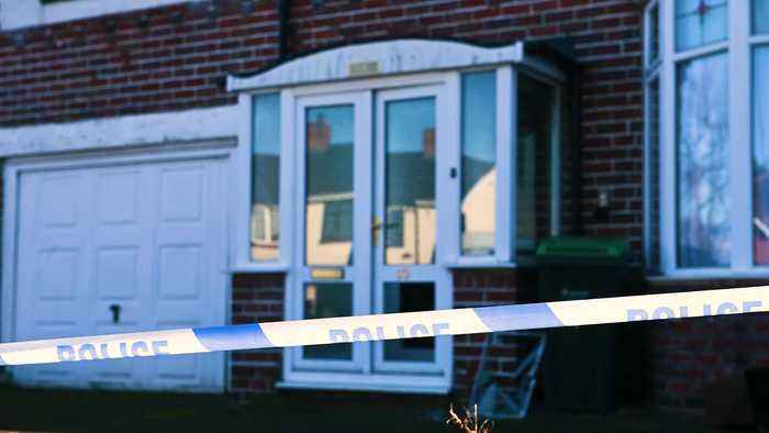 Man suspected of murder after couple in their 50s found in their home