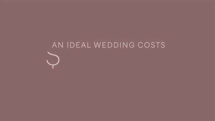 Majority of Americans think you can't have an 'ideal wedding' without an open bar