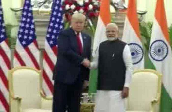 Trump clinches $3 billion military equipment sale on India visit