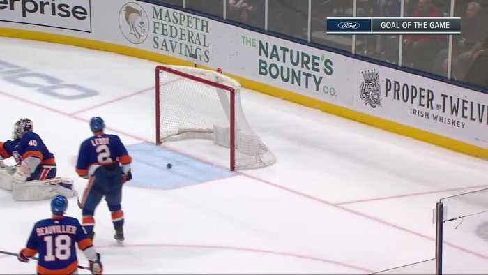 New York Islanders vs. New York Rangers - Game Highlights