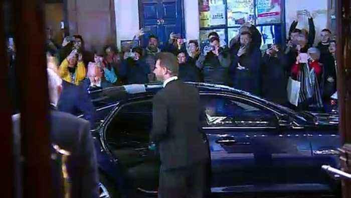 Duke and Duchess of Cambridge at 'Dear Evan Hansen'