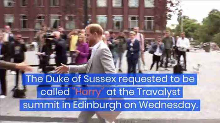 Prince Harry Is Now Going by Just 'Harry'