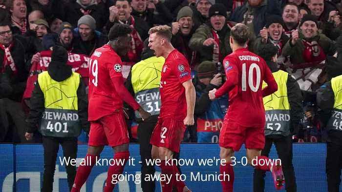 Chelsea 0-3 Bayern Munich: Frank Lampard press conference