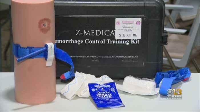Doctors Urge Maryland Residents To Take 'Stop The Bleed Program' In Effort To Focus On Emergency Preparedness