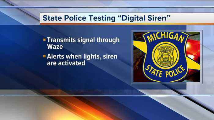 Michigan State Police testing new digital siren to help alert drivers