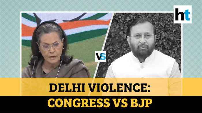 Delhi violence: Congress wants Amit Shah to quit; Govt counters with 1984 jibe