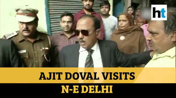'Inshallah...': NSA Ajit Doval's message after visiting Delhi violence hotspots