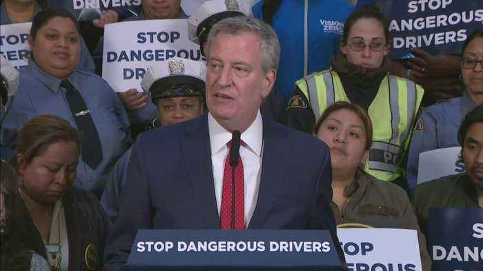 Mayor De Blasio Signs Bill Aimed At Cracking Down On Repeat Reckless Drivers