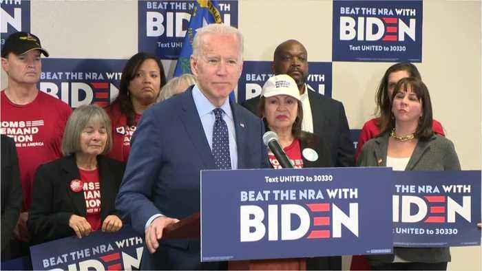 Biden Launches Massive Super Tuesday Ad Campaign