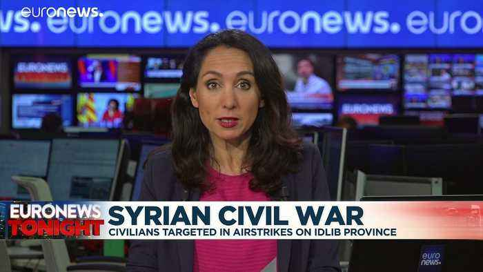 'Civilians here in northwest Syria have a right to live,' White Helmets volunteer says