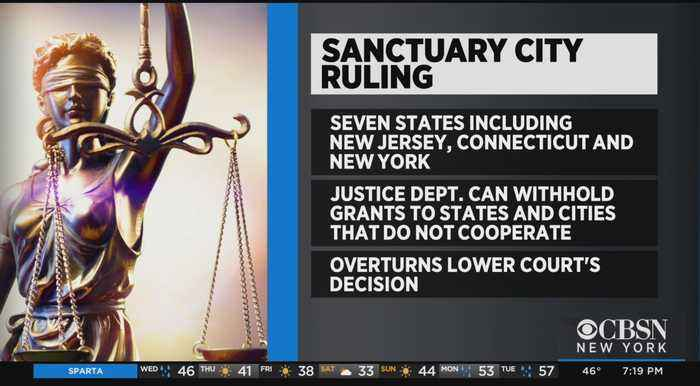 Court Says Trump Administration Can Withhold Law Enforcement Grants From Sanctuary States, Cities