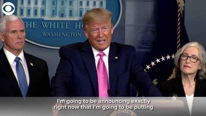 WEB EXTRA: President Trump Announces Vice President Head Of Corona Task Force