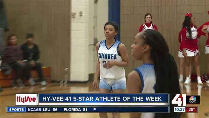 Sumner Academy's Rowe earns 2nd Hy-Vee Athlete of the Week Award