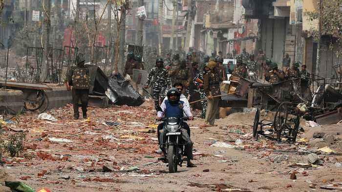 Modi slammed as death toll in New Delhi violence rises