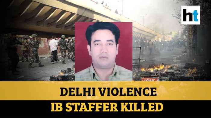 Delhi violence: Intelligence Bureau staffer, a cop's son, killed; family mourns