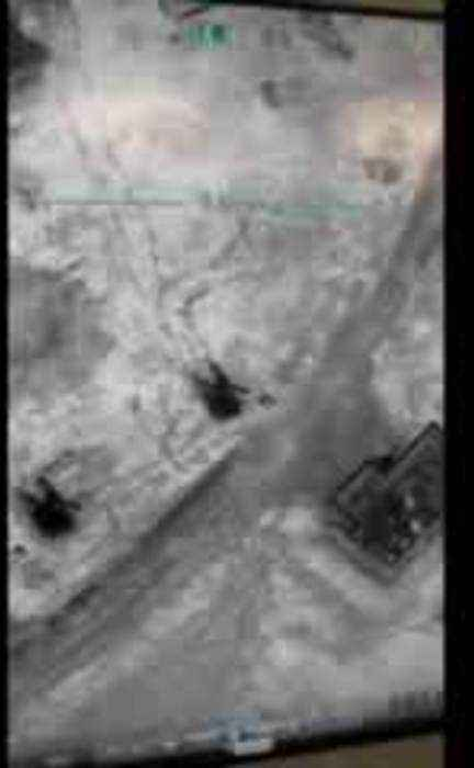 Turkish army releases footage of strikes against Syrian government targets