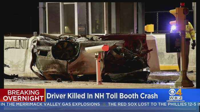 Driver Killed In Hooksett, New Hampshire Toll Booth Crash