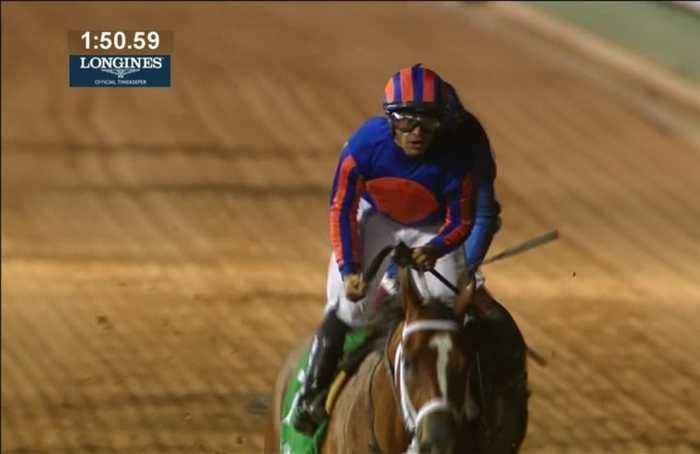 Maximum Security wins the Saudi Cup, the world's richest horse race