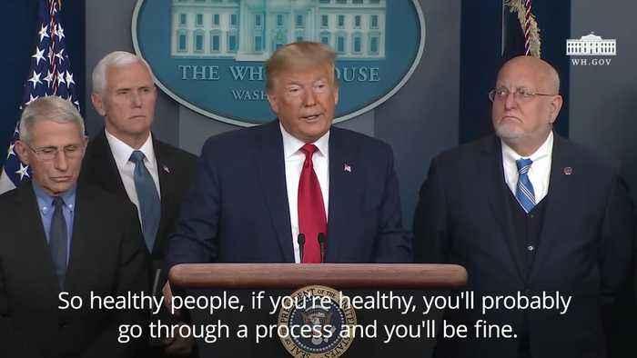 Donald Trump confirms first US coronavirus death