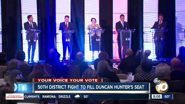 50th District fight to fill Duncan Hunter's seat