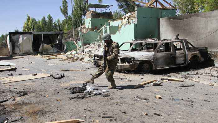 The human cost of the Afghan war and Taliban attacks