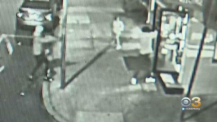 Two Gunmen Caught On Surveillance Video Firing Into West Philadelphia Corner Market
