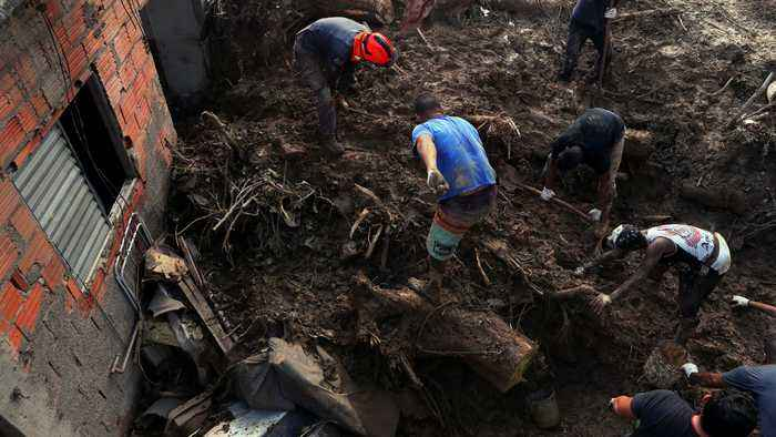 Brazil landslide: 24 dead, dozens missing after southeast storm
