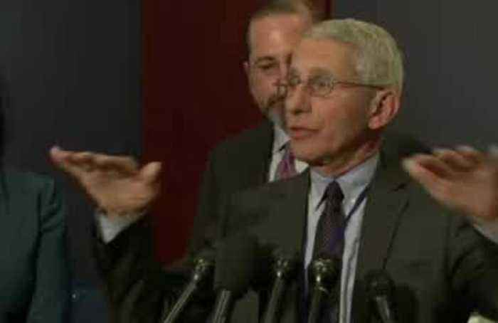Coronavirus risk to U.S. as a 'whole' is 'still low': Fauci