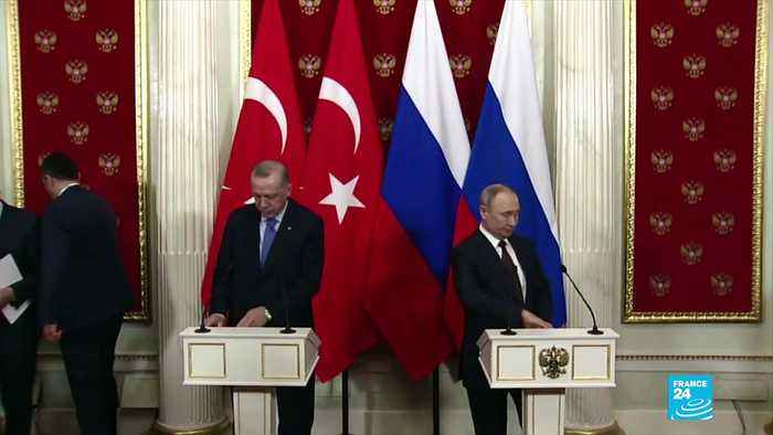 Syria war: Turkey and Russia announce Idlib ceasefire after Moscow deal