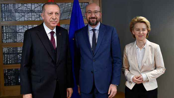 Erdogan demands 'concrete support' from EU, NATO over Syria