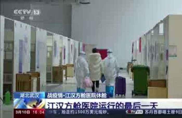 Makeshift hospitals in China virus epicenter officially shut