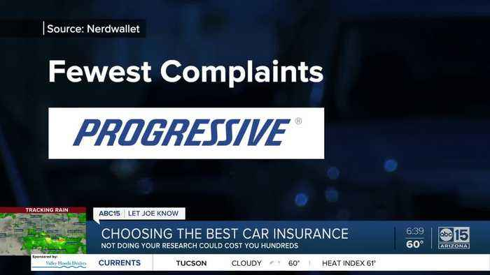Choosing the best car insurance