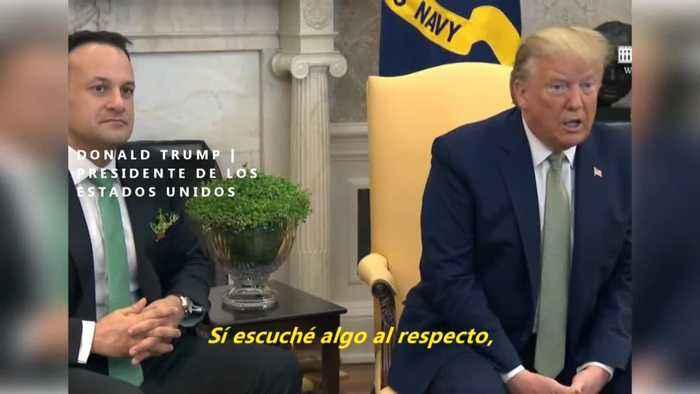 Trump se reunió con portavoz de Bolsonaro con diagnóstico de Covid-19
