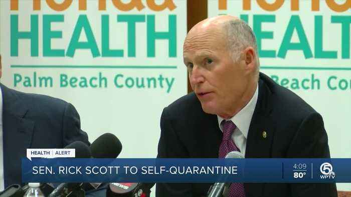 Sen. Rick Scott under self-quarantine