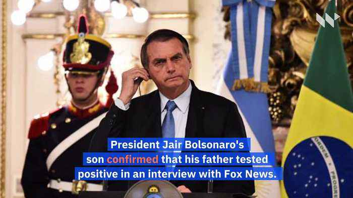 Brazil's President, Jair Bolsonaro, Tests Positive for Coronavirus
