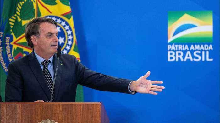 Brazilian President Jair Bolsonaro Said He Tested Negative For The Coronavirus